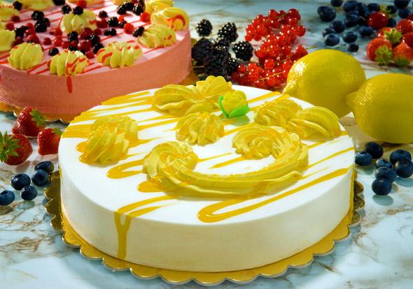 Semifreddo al limone semifreddi dolci congelati dolci for Decorazione limone