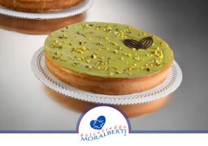 cheesecake-pistacchio-cotta-al-forno-dolcefreddo-moralberti-pasticceria-artigianale-italiana