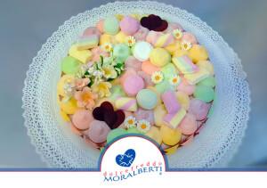 torta-compleanno-decorata-candy-dolcetti-arcobaleno-dolcefreddo-moralberti-pasticceria-artigianale-italiana